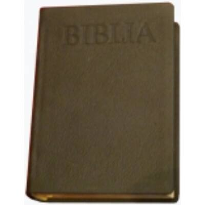Nagy Újfordítású aranymetszésű bőr Biblia