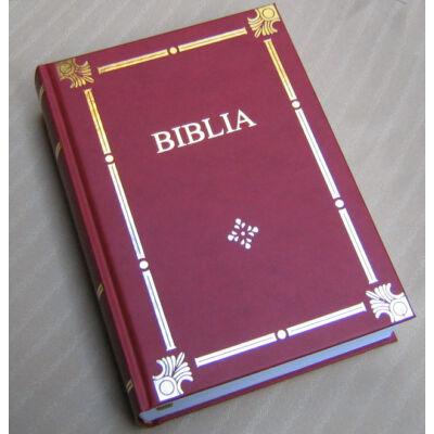 Családi aranynyomásos Biblia