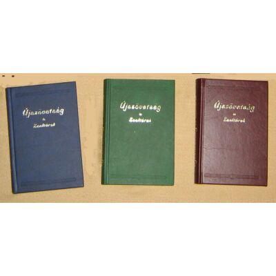 Újszövetség és zsoltárok  16 x 10,5 cm