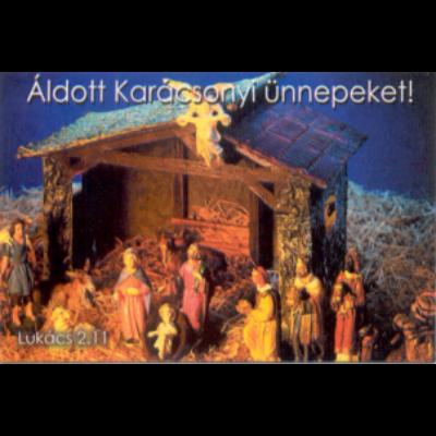 Karácsonyi ajándékkísérő 10 db/cs