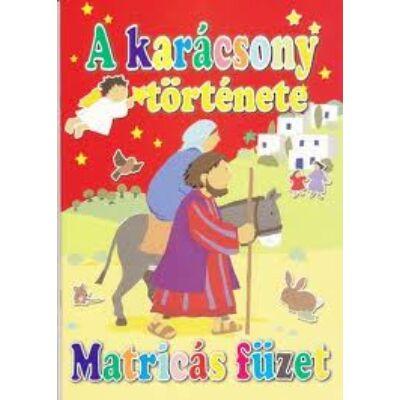 A karácsony története - Matricás füzet