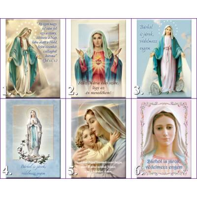 Mágneses szentkép - Mária