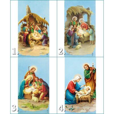 Karácsonyi szentkép 25 db/ cs