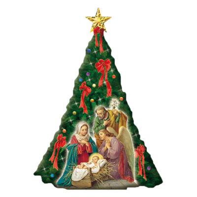 Plakett aranyozott karácsonyfa