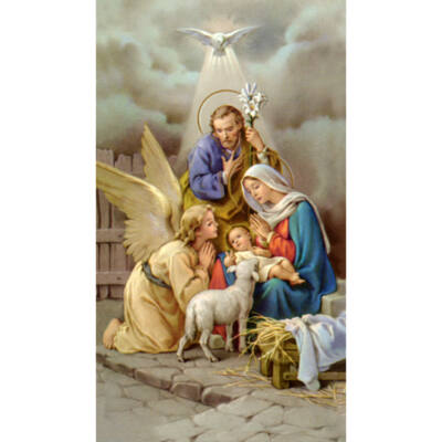Karácsonyi szentkép 25 db/cs