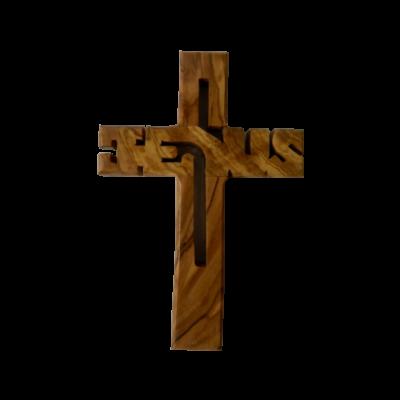 Szentföldi kereszt - Jézus névvel