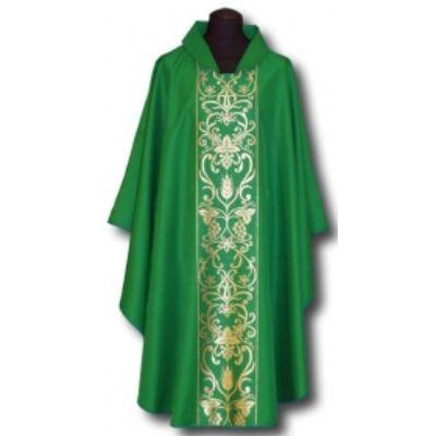 Paszományos miseruha - zöld