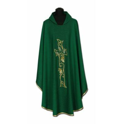 Hímzett miseruha - zöld