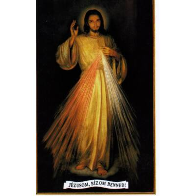 Irgalmas Jézus kép