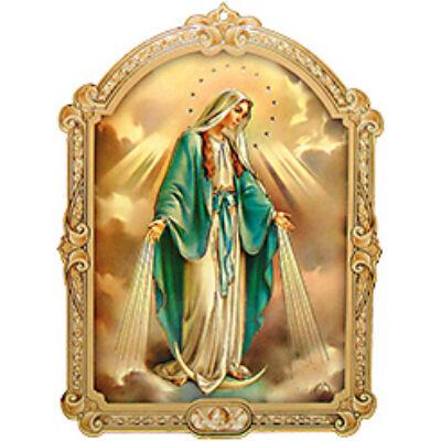 Faplakett Segítő Mária