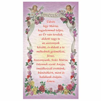 Szentkép -Üdvözlégy Mária 25 darabos csomagban