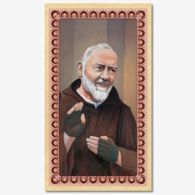 Szentkép - Szent Pió atya - 25 darabos csomagban