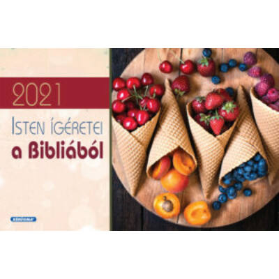 Kis asztali naptár 2021 (4/1) – Isten ígéretei a Bibliából