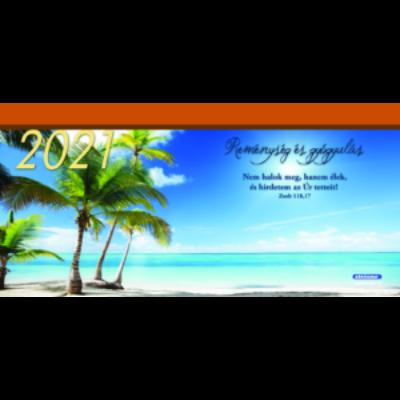 Nagy asztali naptár 2021 (6/1) Reménység és gyógyulás