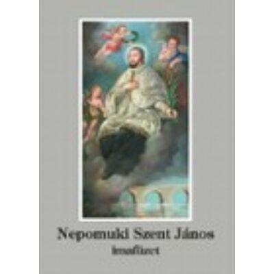 Nepomuki Szent János imafüzet