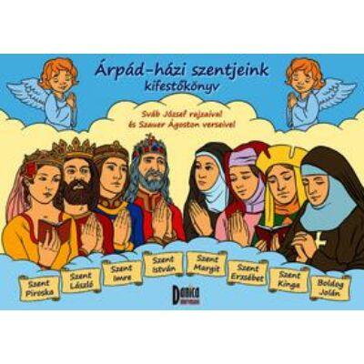 Árpád-házi szentjeink kifestőkönyv