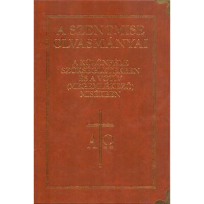 A szentmise olvasmányai különféle alkalmakra