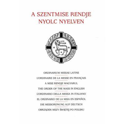 A szentmise rendje 8 nyelven