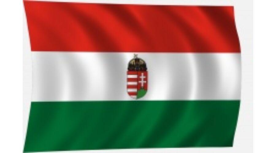 Magyar zászló függőlegesen